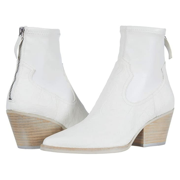 Dolce Vita Shoes   White Booties Nwot